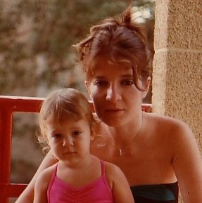 טל נברו ואמא שלה