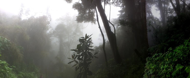 הרי Fuentes Georginas הקסומים מזוית אחרת