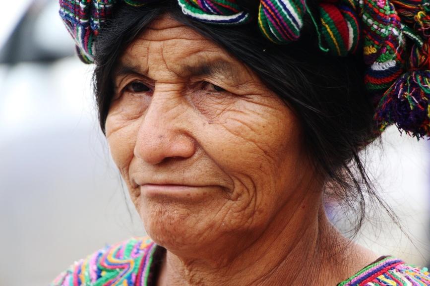 שבט המאיה בגואטמלה