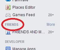 friends lists