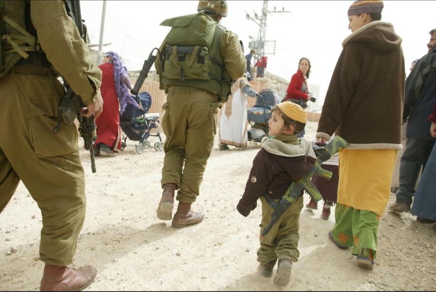 ילדים בקונפליקט (מתוך האתר של זיו קורן)