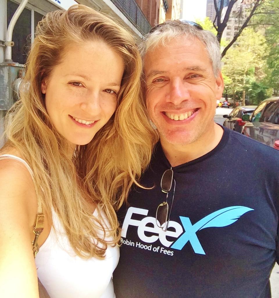 """אורי לוין, יו""""ר FeeX ומייסד Waze"""