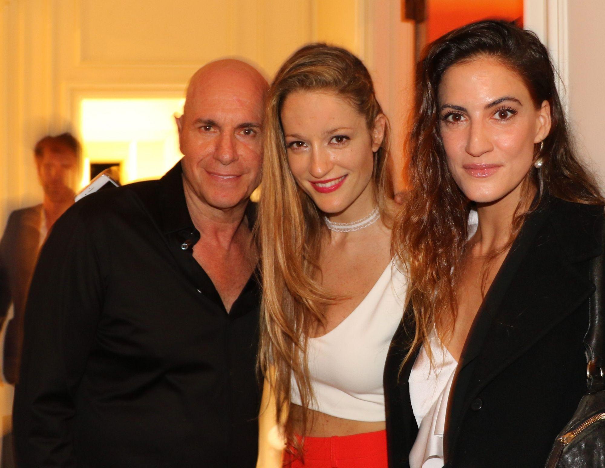 עם רונה לי אהובתי וארי קרו, גם אהוב, חבר טוב וזה שאירח את האירוע בביתו ISWMP