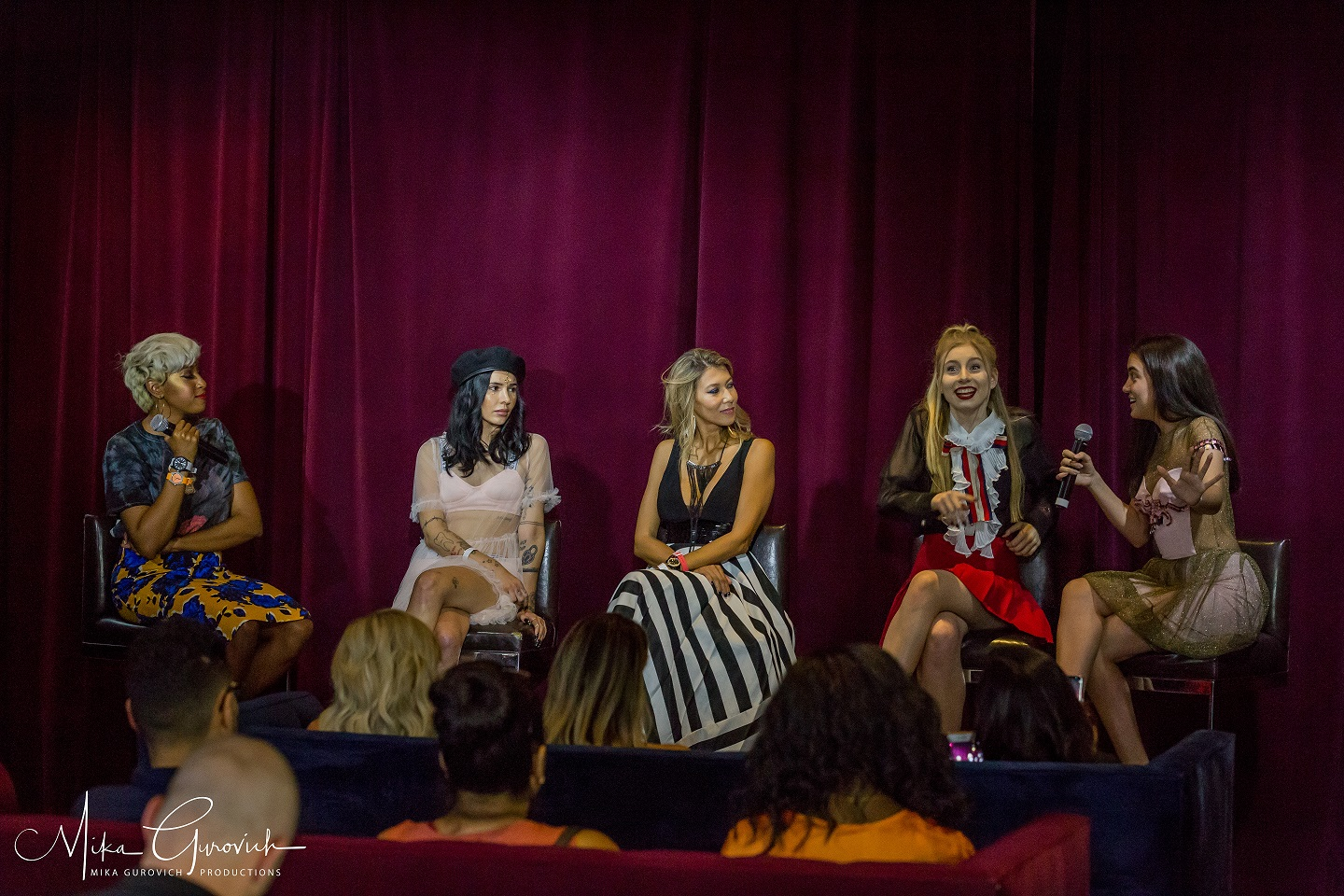 Great Q&A & Speakers at the LAFW Influencers Event צילום: מיקה גורביץ'