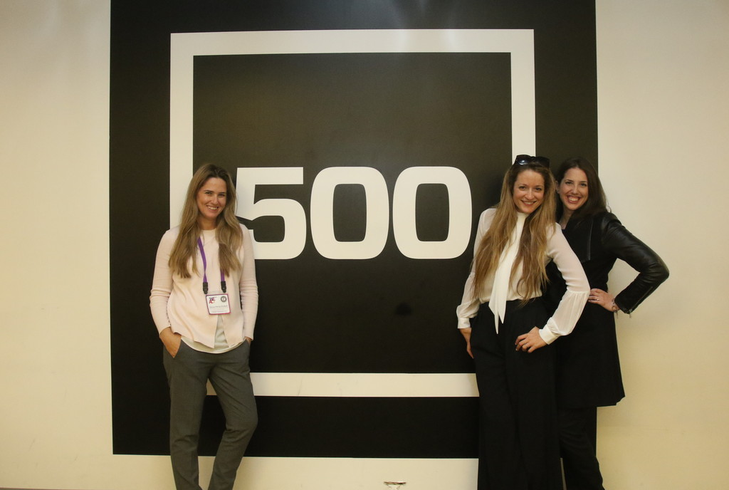 במשרדי 500 Startups עם גלי ודריה. צילום: לימור אדרי