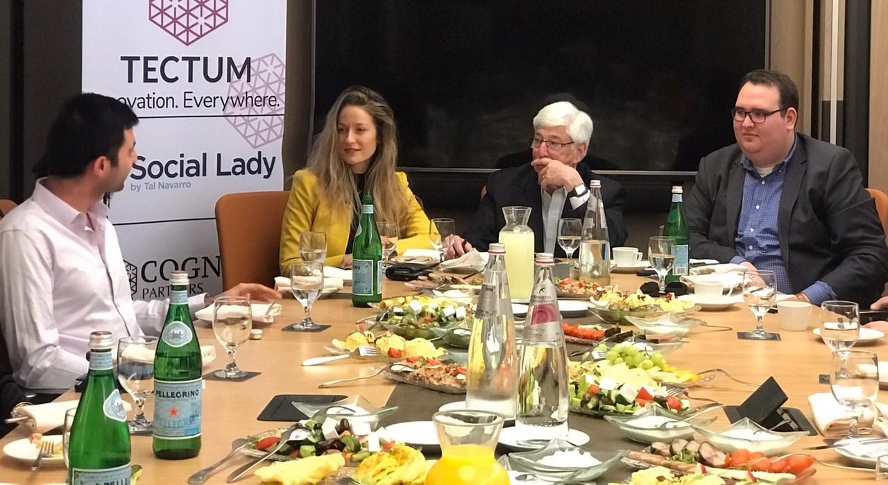 מפגש יזמים ויזמיות עם ראש עיריית בוורלי הילס ג'וליאן גולד