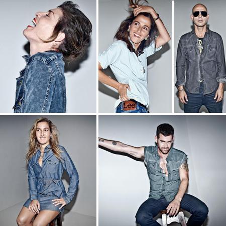 קמפיין ג'ינס לי עם אמדורסקי, קרני פוסטל, שחר פאר, טל נברו, טל נבארו