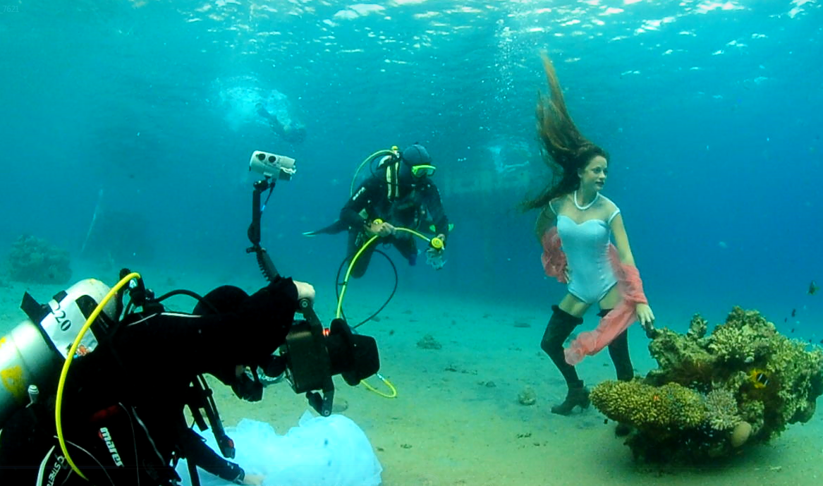 צילום מתחת למים נברו טל