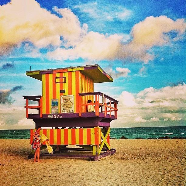 פינה בלב. מיאמי ביץ' 2013 South Beach