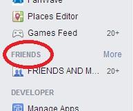 friends lists