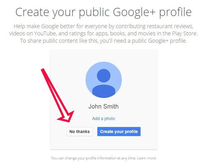 mandatory google integration.