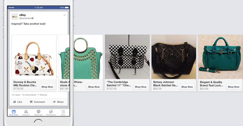 מודעות פייסבוק דינמיות