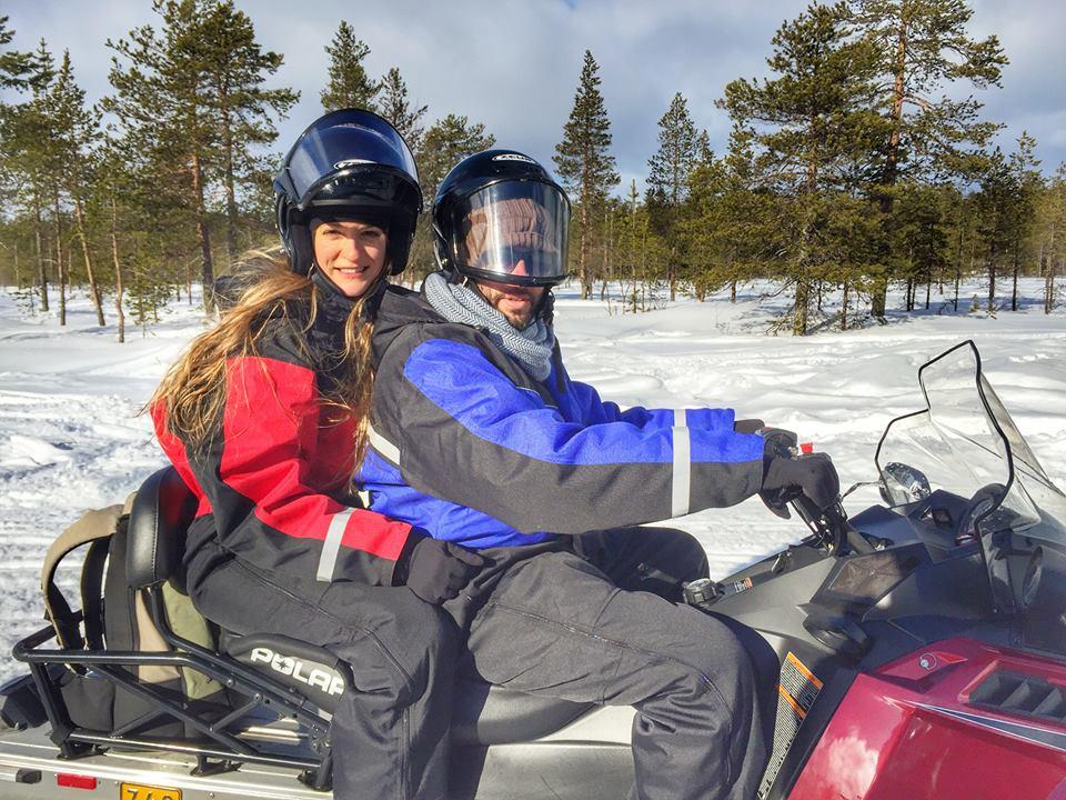 אופנוע שלג לפלנד