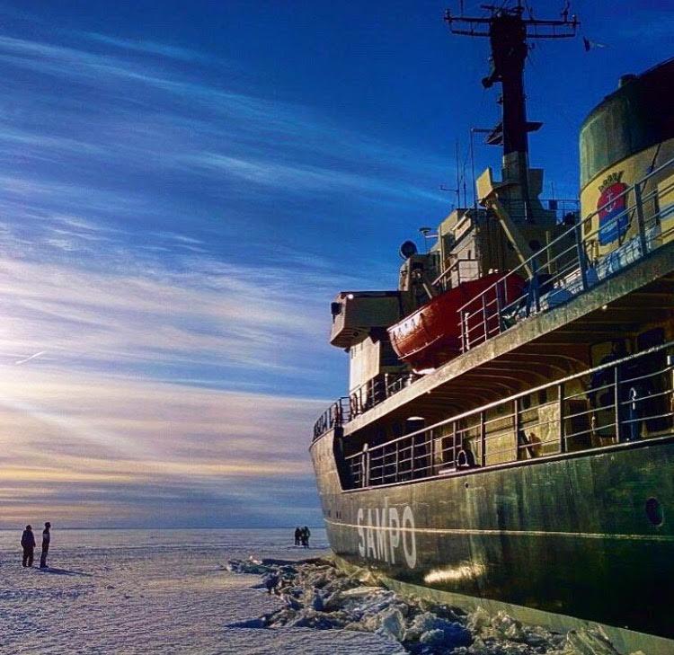 סמפו - שוברת הקרח בלפלנד