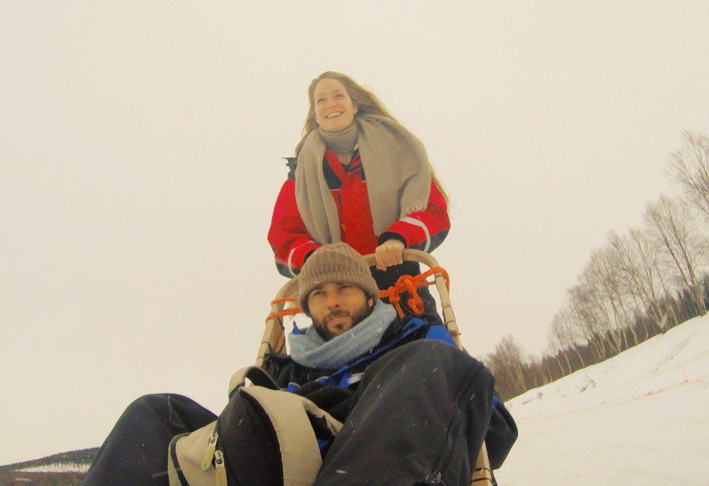 מזחלות שלג לפלנד