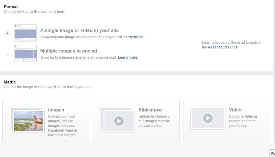 פרסומות בפייסבוק - קריאטיב ובנית נראות
