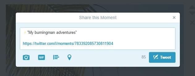 ציוץ בטוויטר רגעים twitter moments