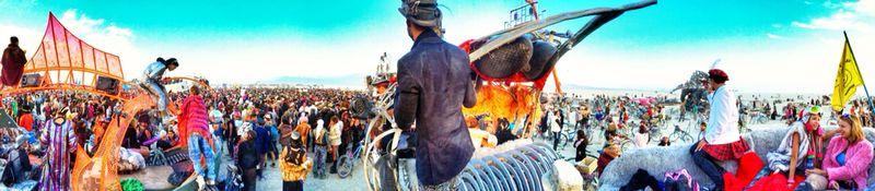צבעים וטירוף. ברנינגמן Burningman 2014