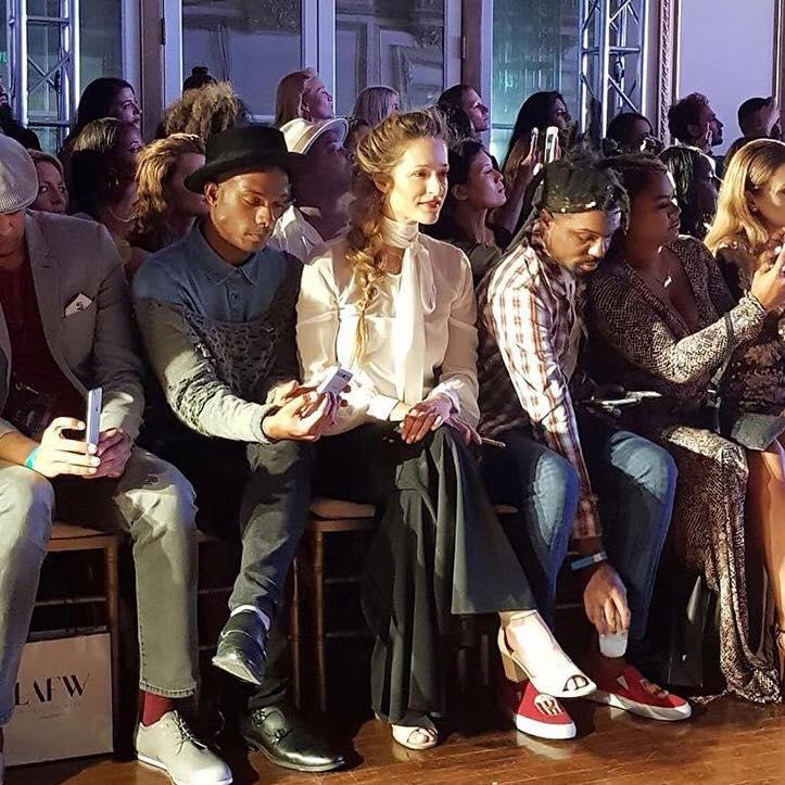 מתצוגה לתצוגה, יום 5 - שבוע האופנה לוס אנג'לס, לובשת: חגית טסה המדהימה. איפור: Total-Glam + KissNYPro שיער: Jeff Wacker, תכשיטים: עדי רפאל