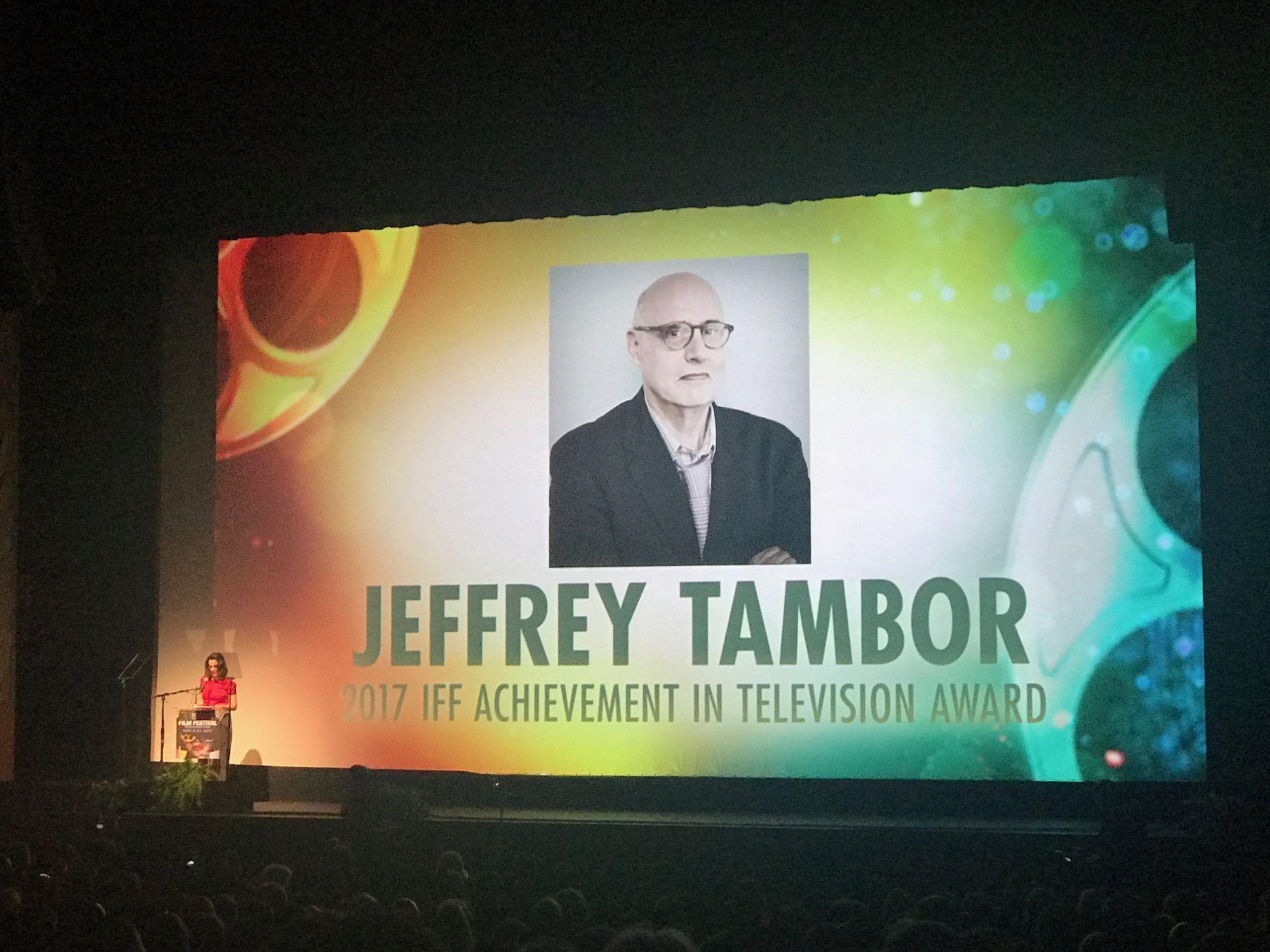 Jeffrey Tambor at the Israeli Film Festival
