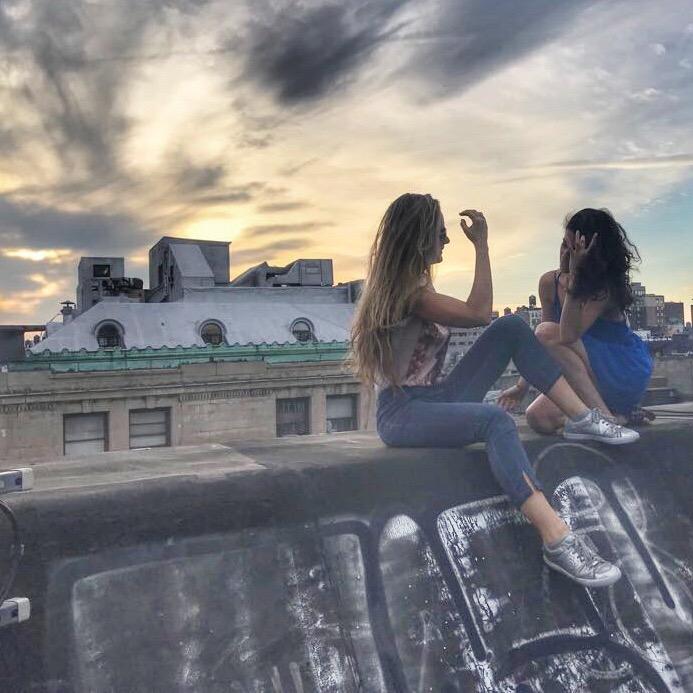 על גג העולם Soho, Manhattan