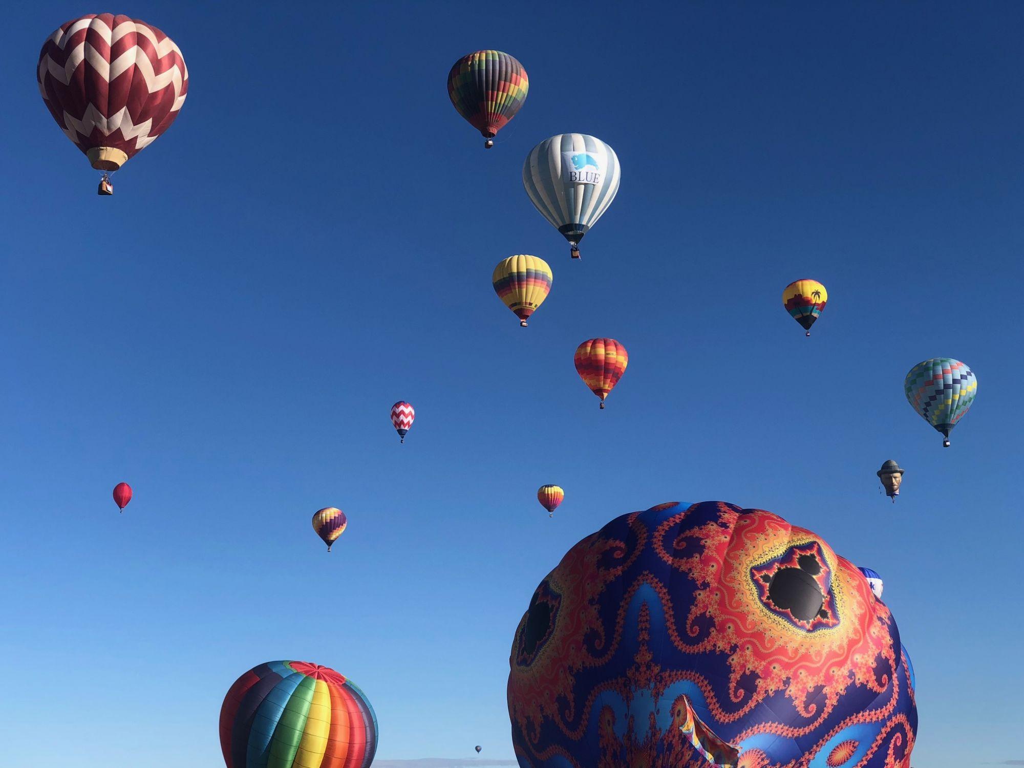 פסטיבל כדורים פורחים באלבאקורקי, ניו מקסיקו