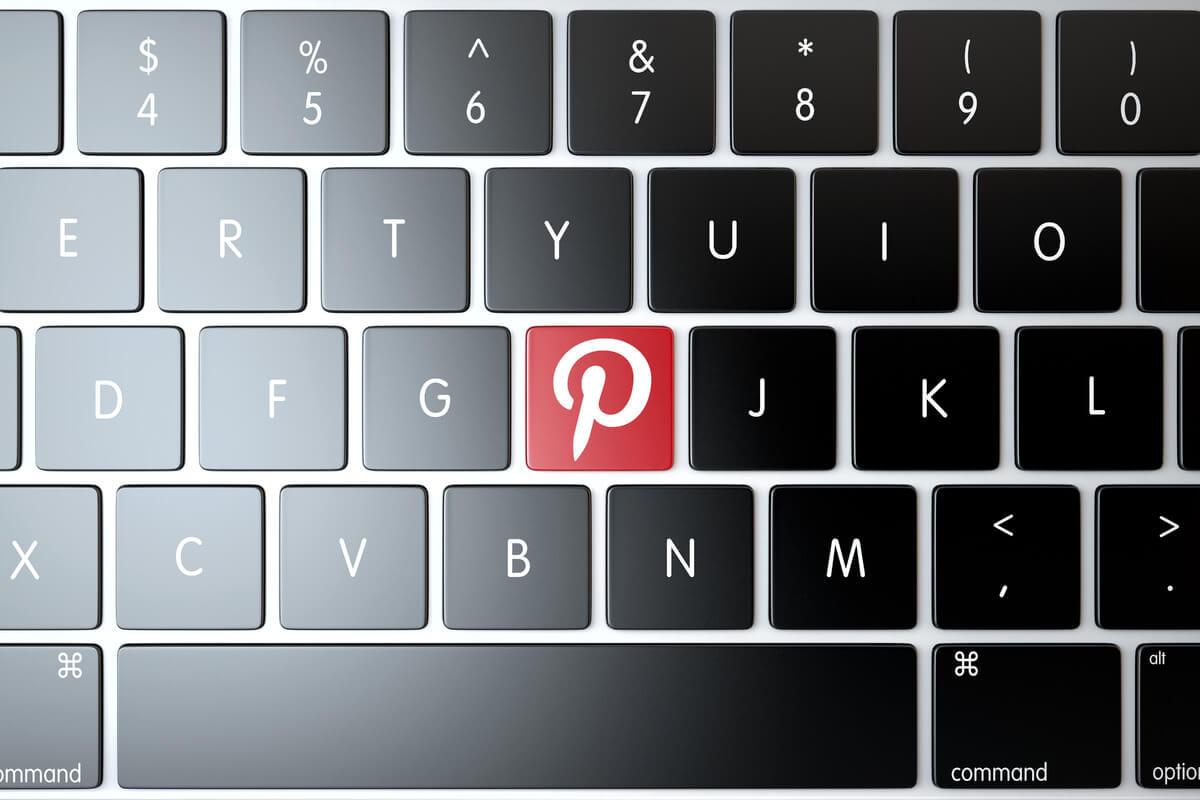 הלוגו של הרשת החברתית פינטרסט - תמונה אווירה קמפיינים בפינטרסט